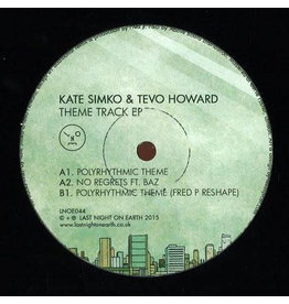"HS Kate Simko & Tevo Howard ‎– Theme Track EP 12"" (2015)"
