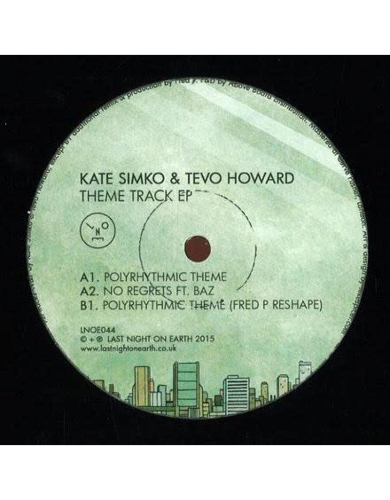 "HS Kate Simko & Tevo Howard – Theme Track EP 12"" (2015)"
