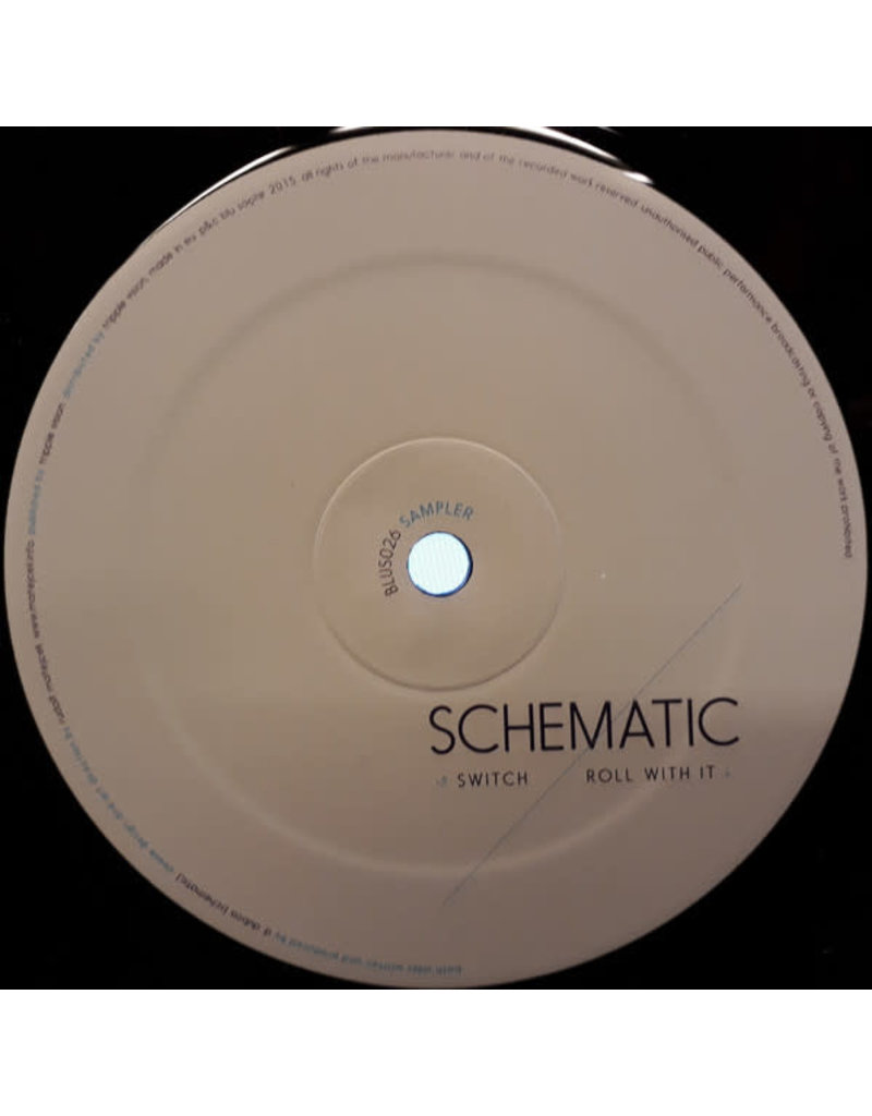 """DB Schematic – Switch/Roll With It 12"""" (2015)"""