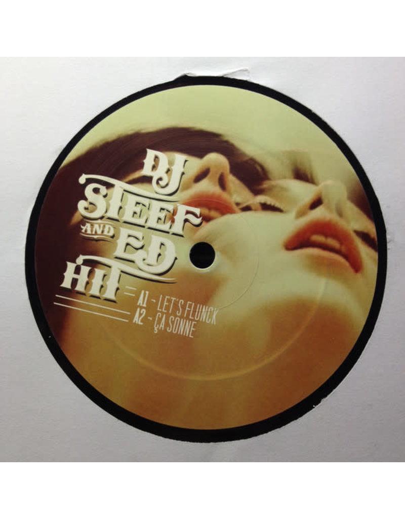 """DE DJ Steef – Edits Vol. 4 12"""" (2013)"""