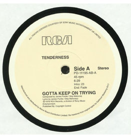 "DC Tenderness ‎– Gotta Keep On Trying 12"" (Reissue)"