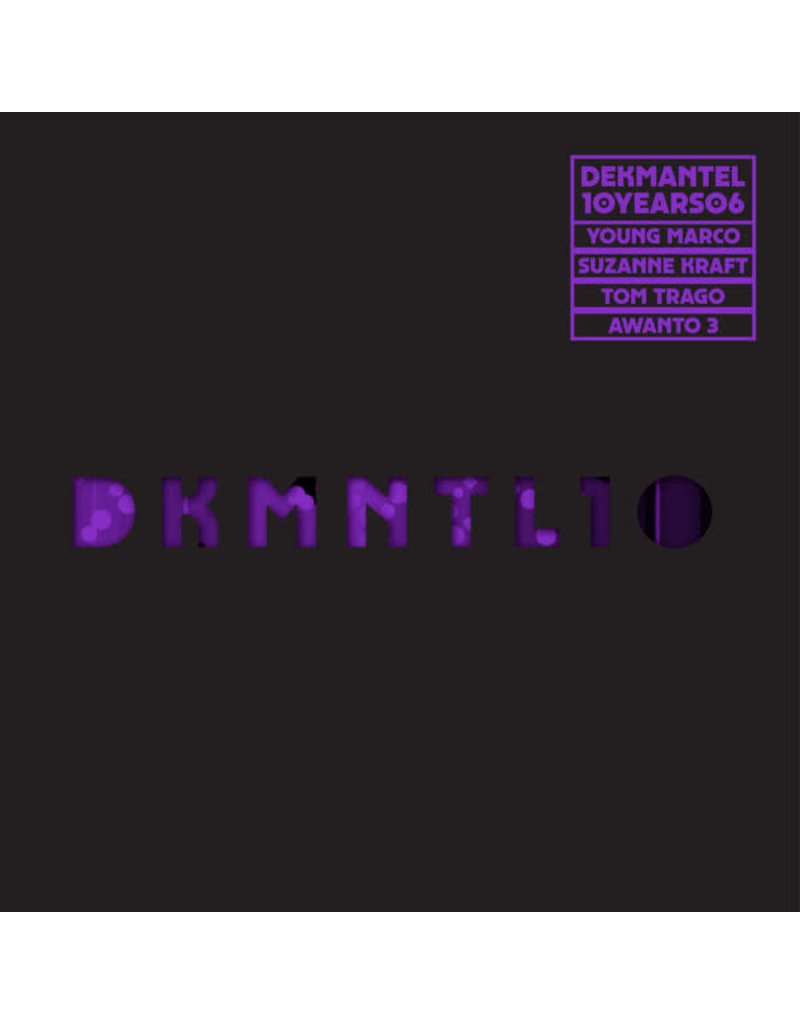 """HS Various – Dekmantel 10 Years 06 12"""" (2017)"""