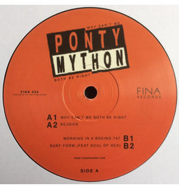"HS Ponty Mython ‎– Why Can't We Both Be Right 12"" (2017)"