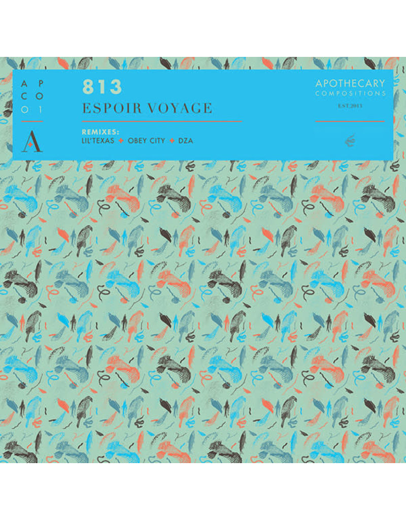 "AB 813 – Espoir Voyage 12"" (2013), Red Vinyl"