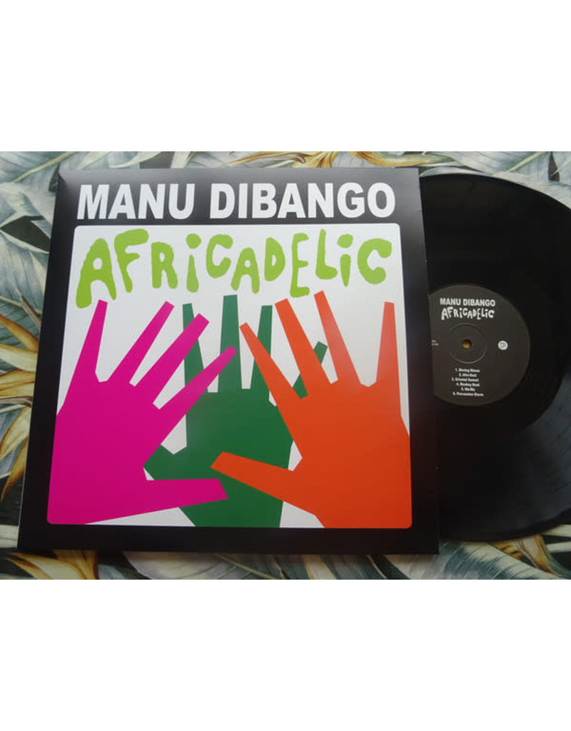 Manu Dibango - Africadelic LP (2020 Reissue)