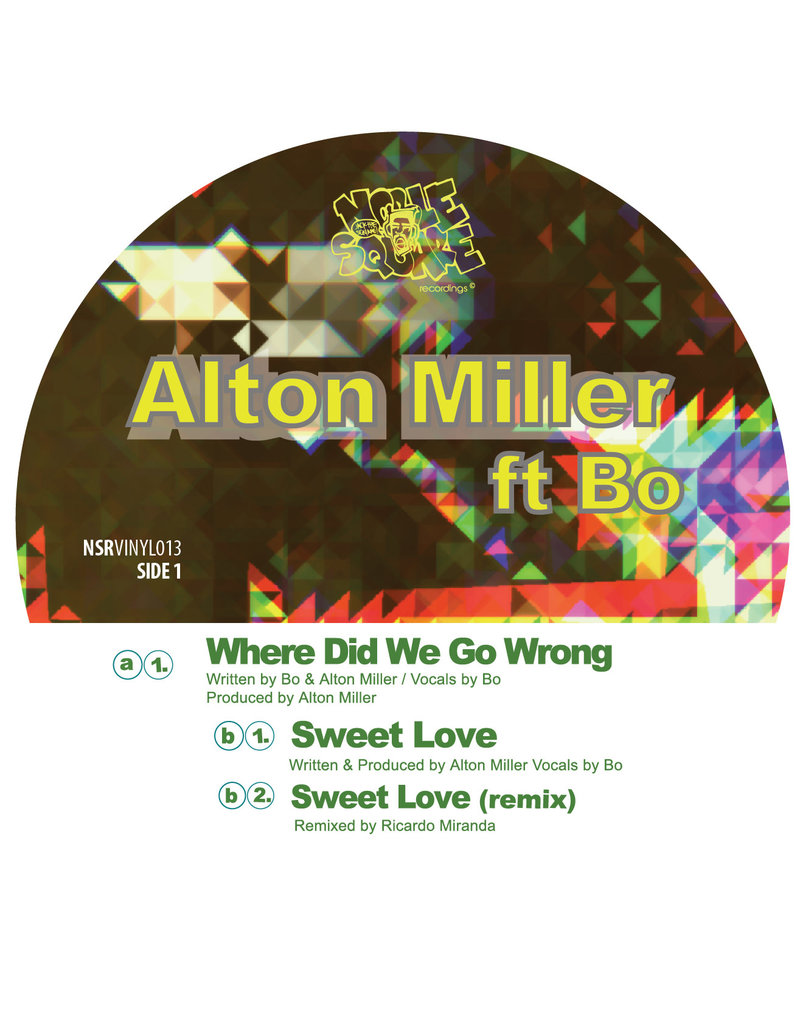 Alton Miller Ft Bo – Where Did We Go Wrong 12""