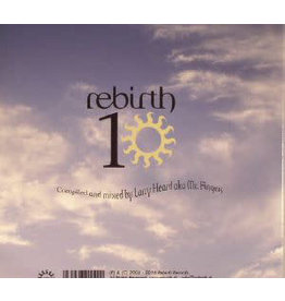 HS Various ‎– Rebirth 10 - Compiled And Mixed By Larry Heard A.K.A. Mr. Fingers Label CD