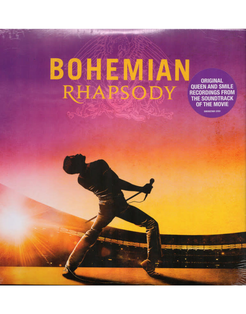 RK Queen ‎– Bohemian Rhapsody OST LP (2019)