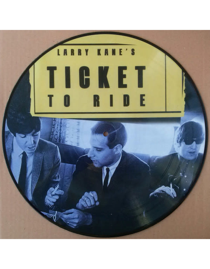 RK The Beatles – Larry Kane's Ticket To Ride LP (Picture Disc)