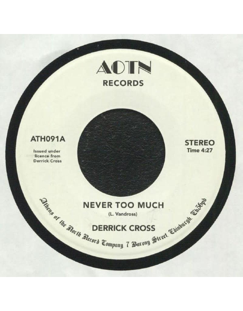 """Derrick Cross – Never Too Much 7"""""""