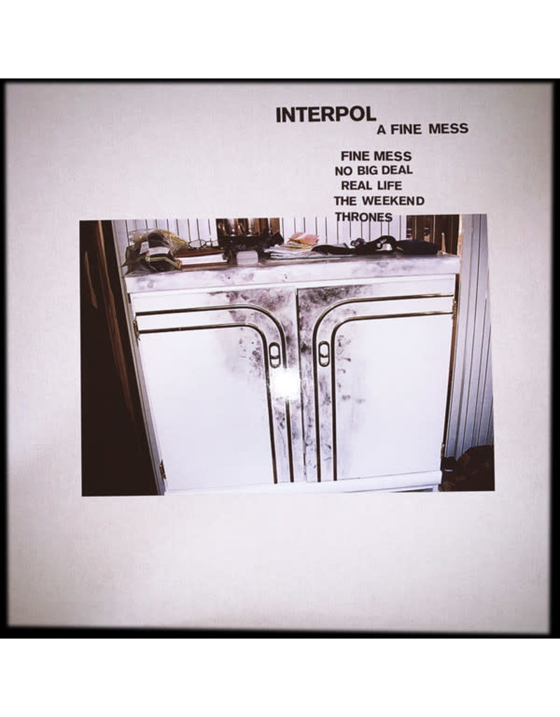 "RK Interpol ‎– A Fine Mess EP 12"" (2019)"
