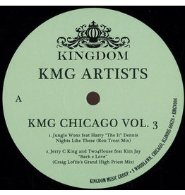 "DE Various ‎– KMG Chicago Vol. 3 12"" (2015)"