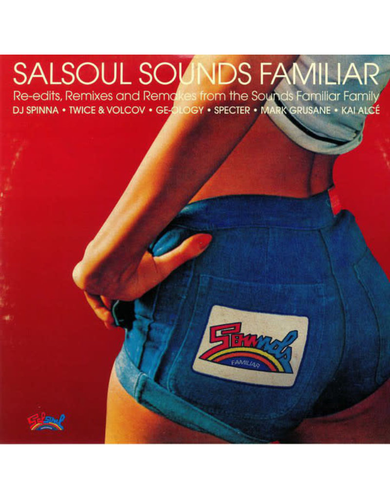DC Various – Salsoul Sounds Familiar (Re-Edits, Remixes And Remakes From The Sounds Familiar Crew) 2LP