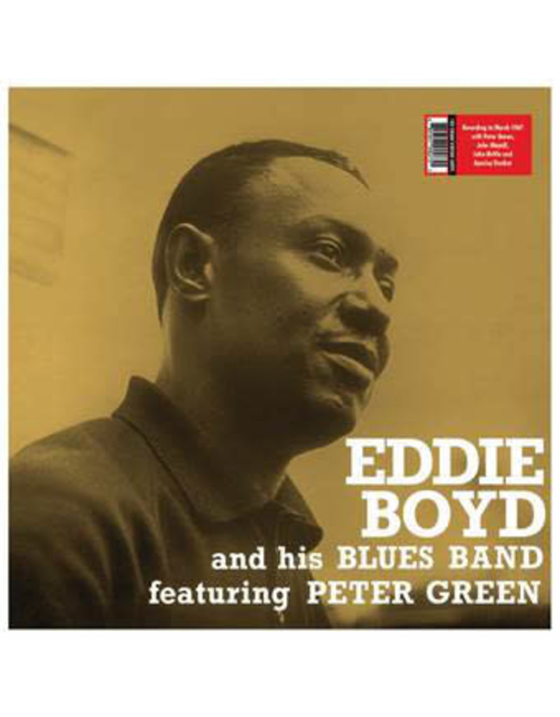 Eddie Boyd And His Blues Band Featuring Peter Green - Eddie Boyd And His Blues Band LP (2021 Reissue),180g