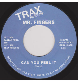 HS Mr. Fingers ‎– Can You Feel It / Washing Machine 7""