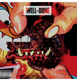 HH Action Bronson & Statik Selektah - Well-Done  2LP (Repress), Orange/White Swirl
