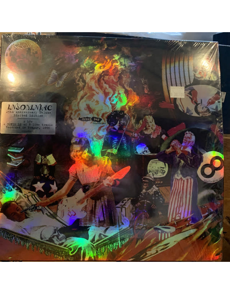 Green Day - Insomniac LP (2021 Reissue), Deluxe, 25th Anniversary Edition