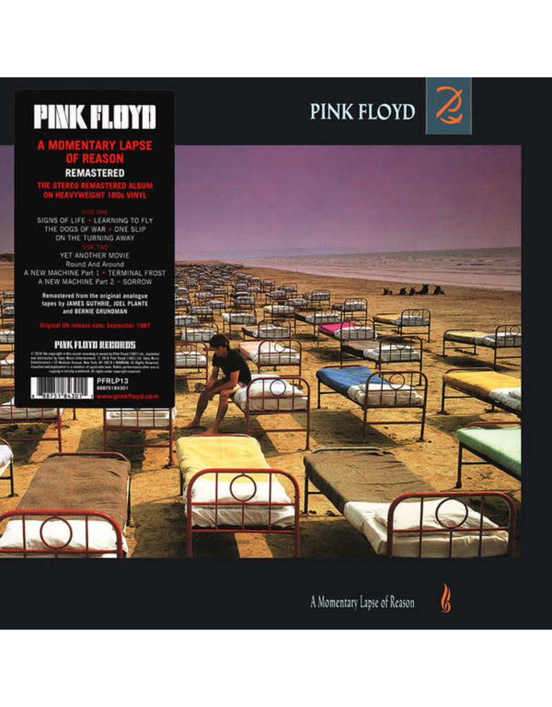Pink Floyd – A Momentary Lapse Of Reason LP