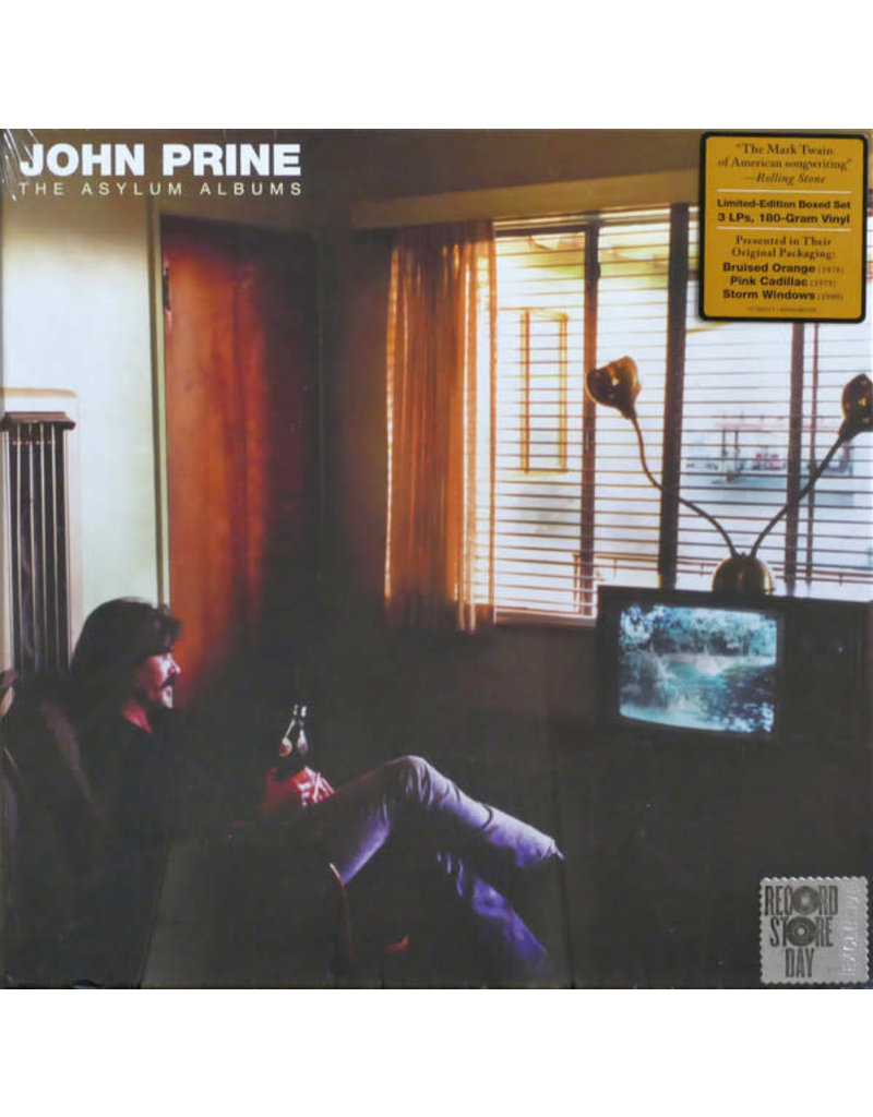John Prine – The Asylum Albums 3LP BOX SET (2020 Reissue, Compilation), 180g, Limited Edition
