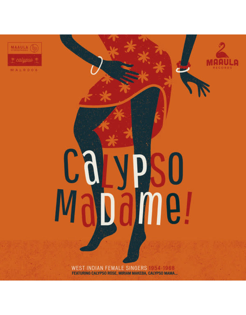 Various – Calypso Madame! (West Indian Female Singers 1954-1968) LP, Compilation