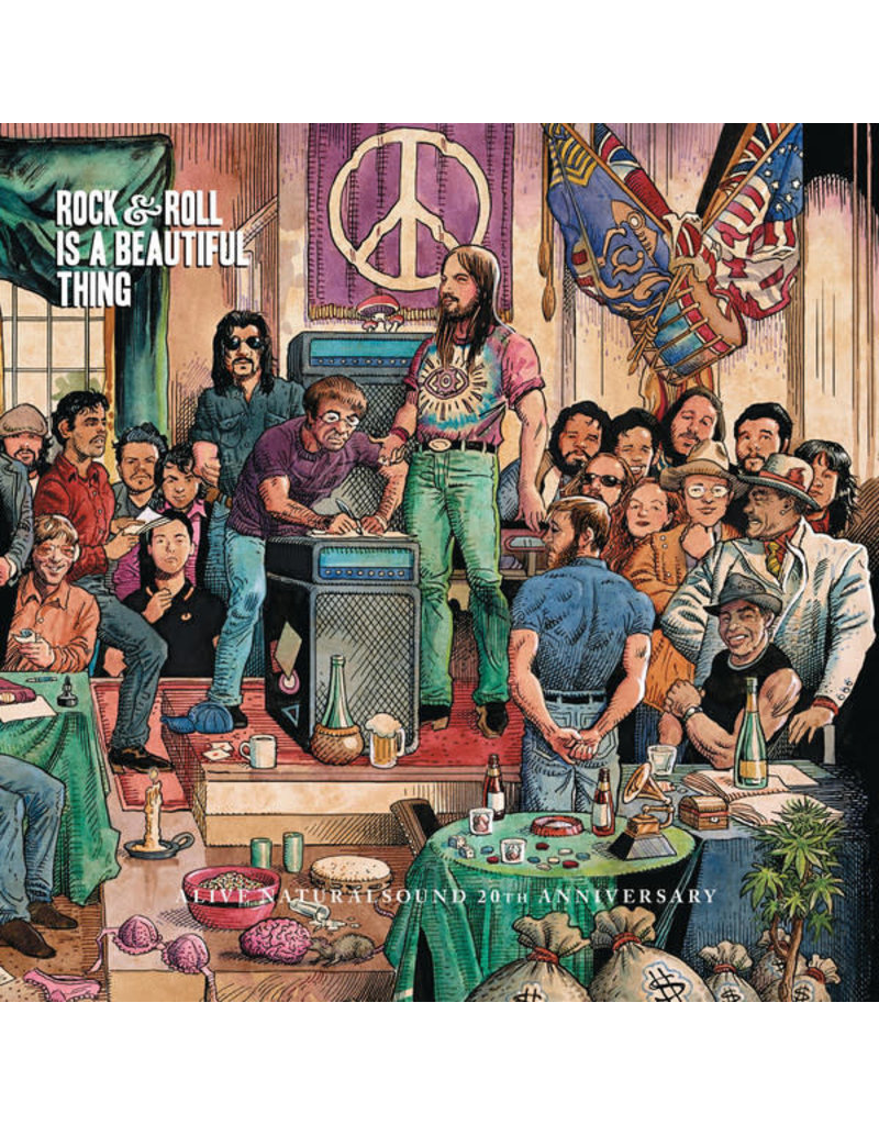 RK V/A: Rock & Roll Is A Beautiful Thing [2xLP] [RSD2015]