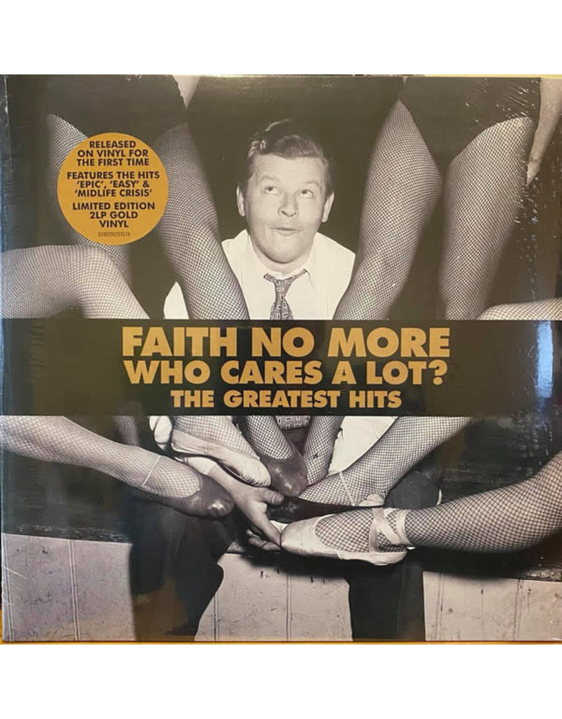 Faith No More - Who Cares A Lot? The Greatest Hits 2LP (2021 Reissue), Limited, Gold Vinyl