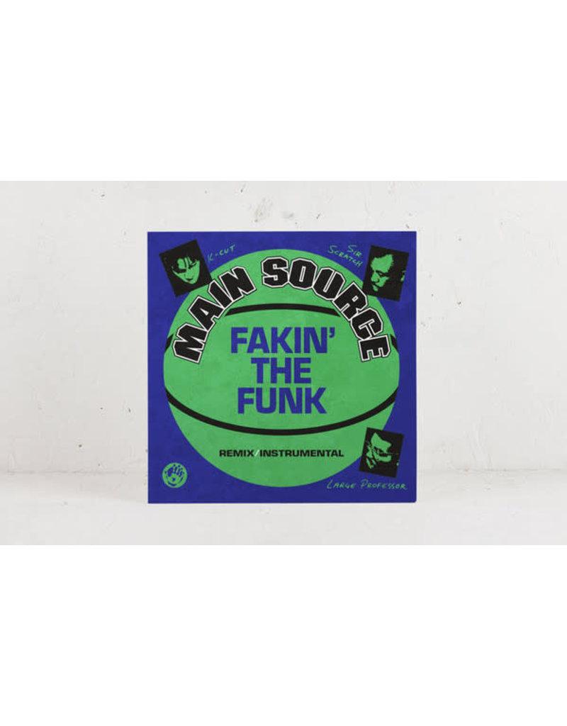 "Main Source - Fakin' The Funk 7"" (2021 Mr Bongo), Limited Neon Green Vinyl"