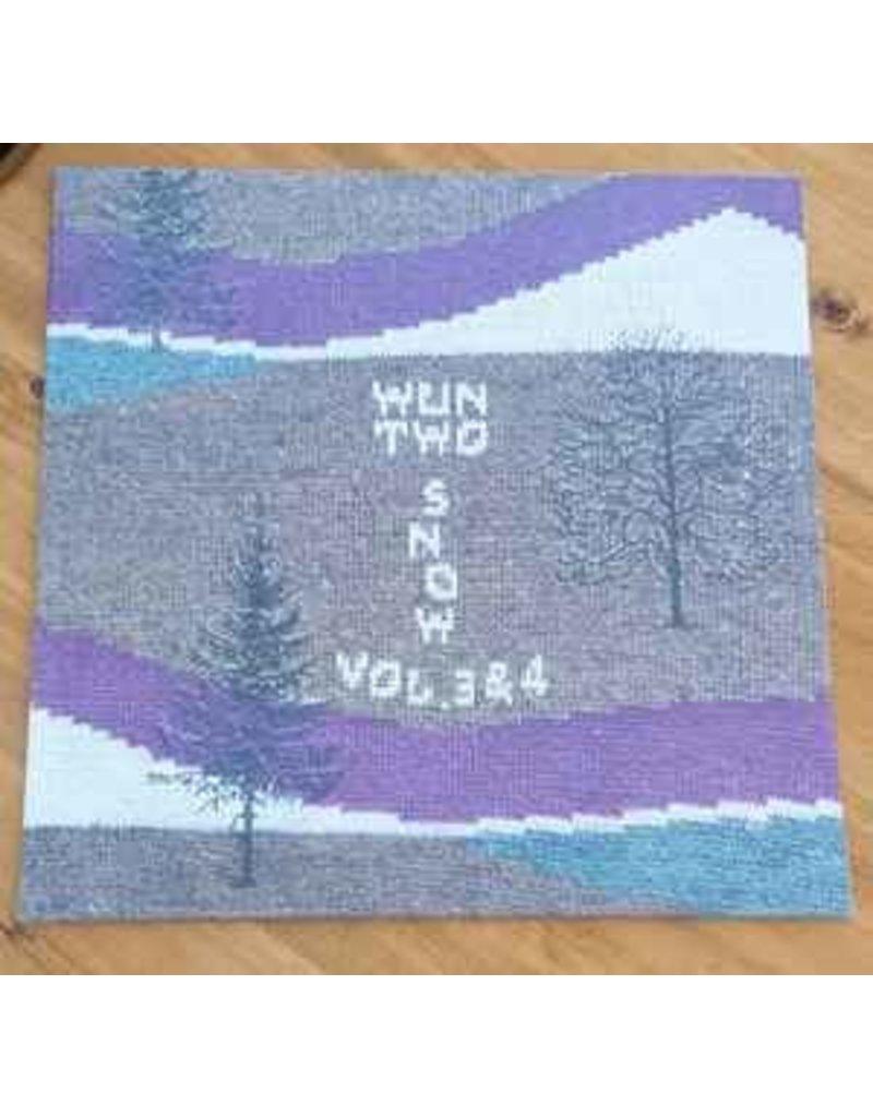 Wun Two – Snow Vol. 3 & 4 LP (2019), White