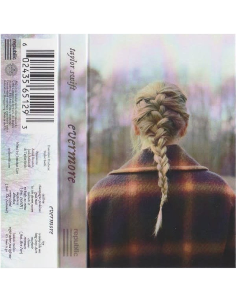 Taylor Swift – Evermore Cassette