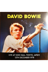 David Bowie - Live at NHK Hall, Tokyo, Japan 12th Dec 1978 LP (2021)