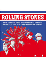 Rolling Stones - Live At The Hawaii International Center, Honolulu 728/1966 KPOI FM LP (2020)