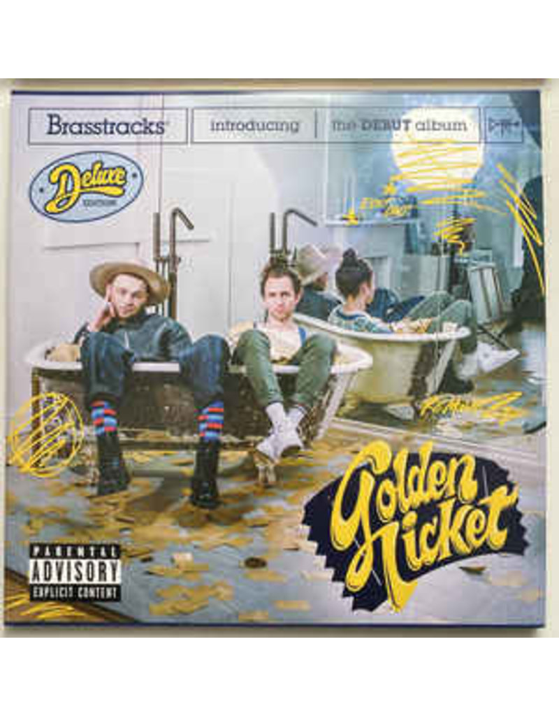 Brasstracks - Golden Ticket LP (2021)