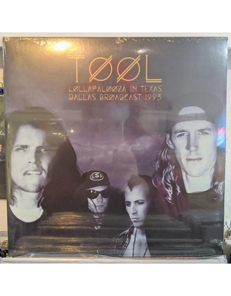 Tool - Lollapalooza In Texas LP (2020), Clear Vinyl