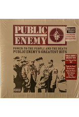 Public Enemy - Power To The People And The Beats (Public Enemy's Greatest Hits) 2LP, Limited Edition, Blood Red w/ Black Smoke