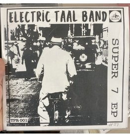 """Electric Taal Band - Super 7 EP 7"""" (2021), Limited to 60"""