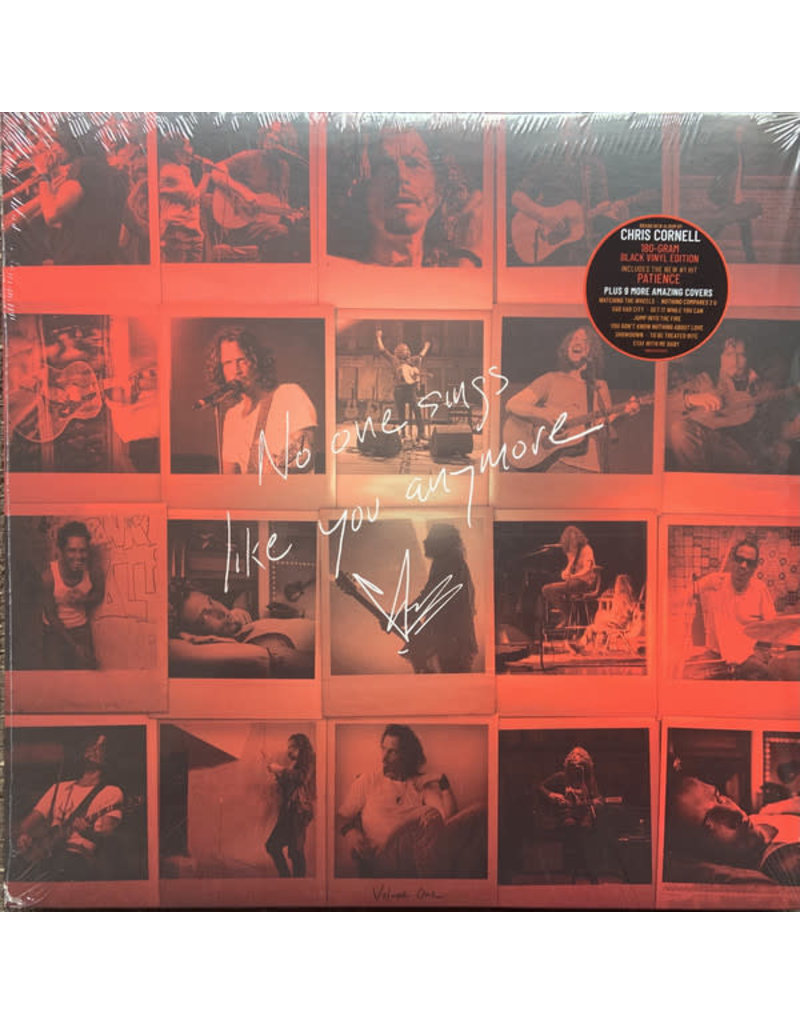 Chris Cornell - No One Sings Like You Anymore LP (2021), 180g