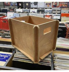 DIY (Self- Assembly) Plywood LP Vinyl Record Crate/Storage