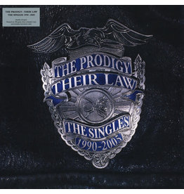 EL The Prodigy - Their Law - The Singles 1990-2005 2LP (2014 Reissue Compilation), Silver Marbled Translucent
