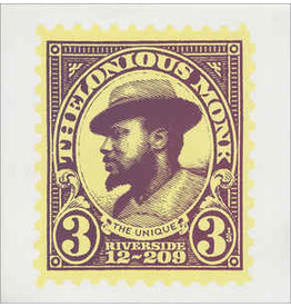 Thelonious Monk - The Unique Thelonious Monk LP (2012 Reissue)