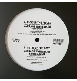 "Average White Band - Pick Up The Pieces 12"" (2019), White Vinyl"