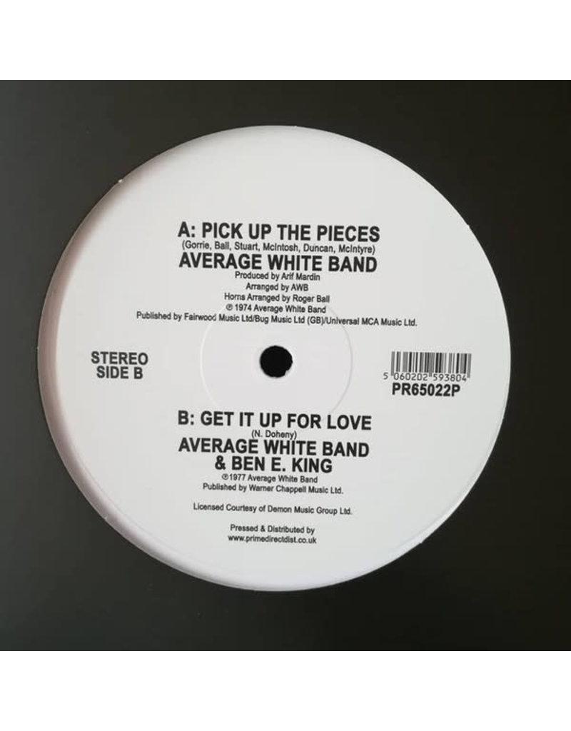 "Average White Band - Pick Up The Pieces 12"" (2019), White Vinyl"