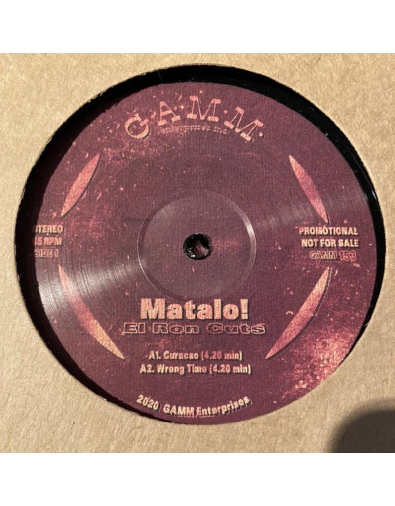 """Matalo! - El Ron Cuts 12"""" (2021)"""