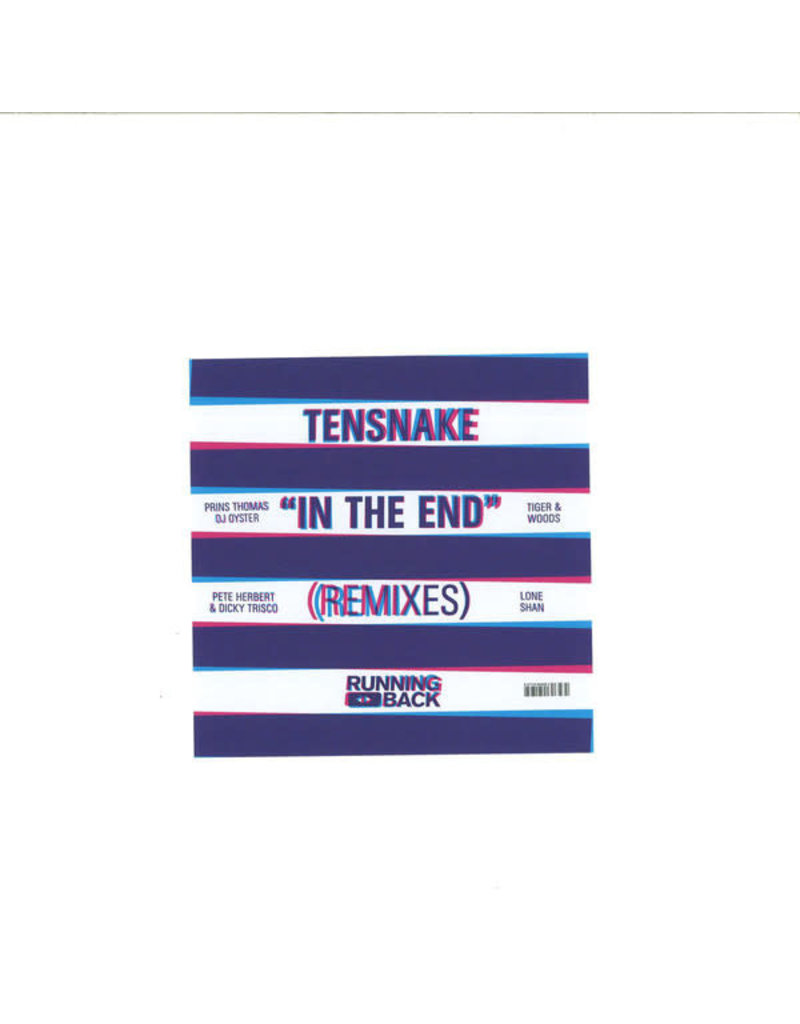 """HS Tensnake - In The End Remixes 2x12"""" (2015)"""