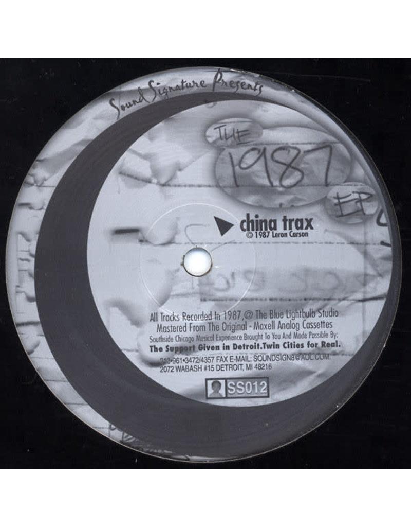 "TN Theo Parrish / Leon Carson – The 1987 EP 12"""
