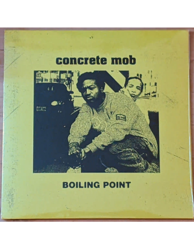 "Concrete Mob - Boiling Point 7"" (2020), FlipNJay"