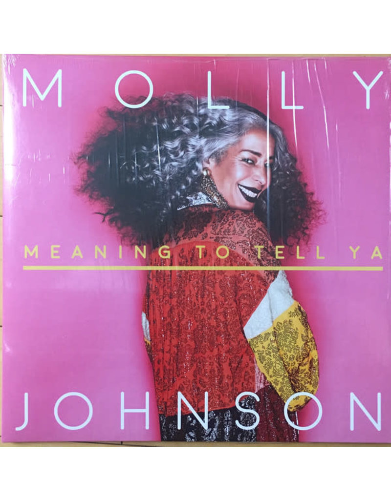 PO Molly Johnson - Meaning To Tell Ya LP (2018)