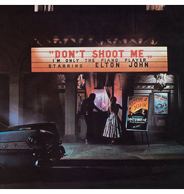 RK Elton John - Don't Shoot Me I'm Only The Piano Player LP (2017 Reissue), Remastered, 180g