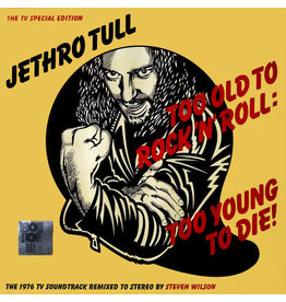 RK Jethro Tull - Too Old To Rock 'n' Roll: Too Young To Die - The TV Special Edition LP (2016), Limited 3000