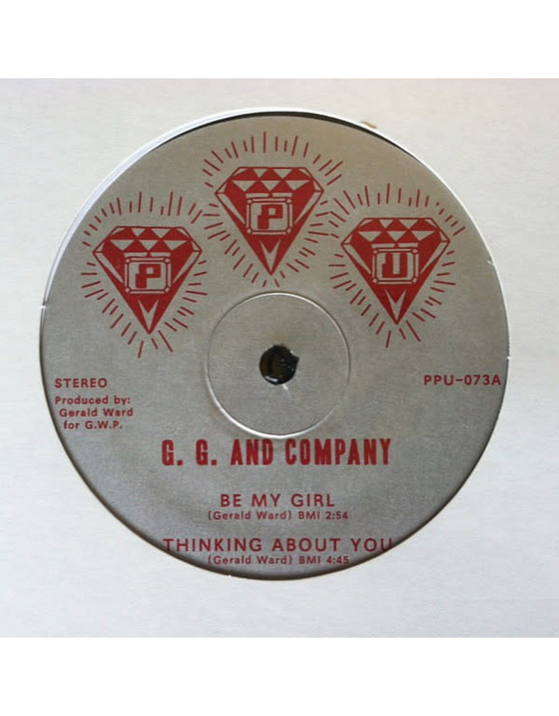 """DC G. G. And Company - Thinking About You 12"""" (2015)"""