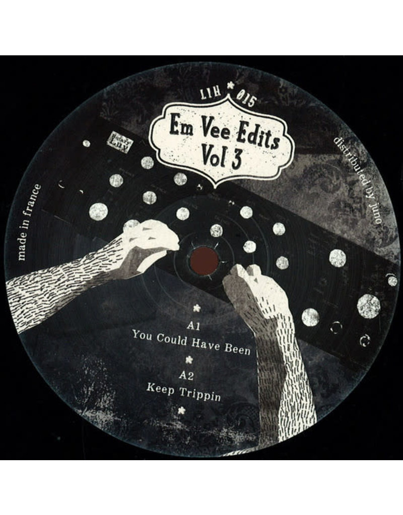 """DE Em Vee - Em Vee Edits Vol 3 12"""" (2015)"""